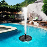 Solar Panel Water Fountain Garden Fountain Pump