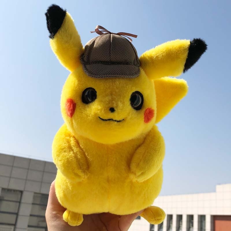 Detective Pikachu Cute Plush Toy