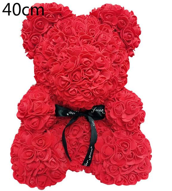 Rose Bear Teddy Red Shop Online Souq