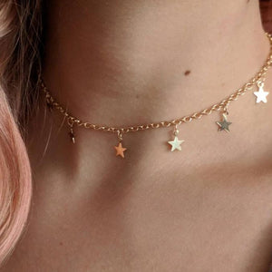 Stars Necklace Pendant