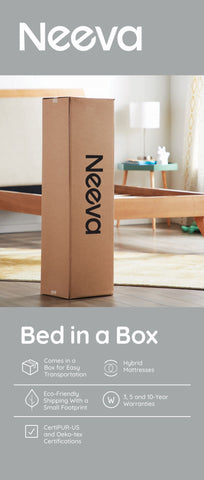 Neeva bed in a box mattress gainesville florida