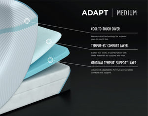 TEMPUR-Adapt® Medium by Tempurpedic™