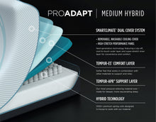 Load image into Gallery viewer, TEMPUR-ProAdapt® Medium Hybrid by Tempurpedic™