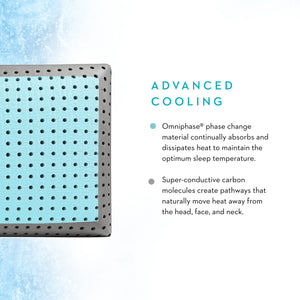 Malouf CarbonCool® + OMNIPHASE® LT Pillow