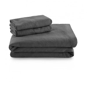 Malouf French Linen Ultra Premium Sheet Set
