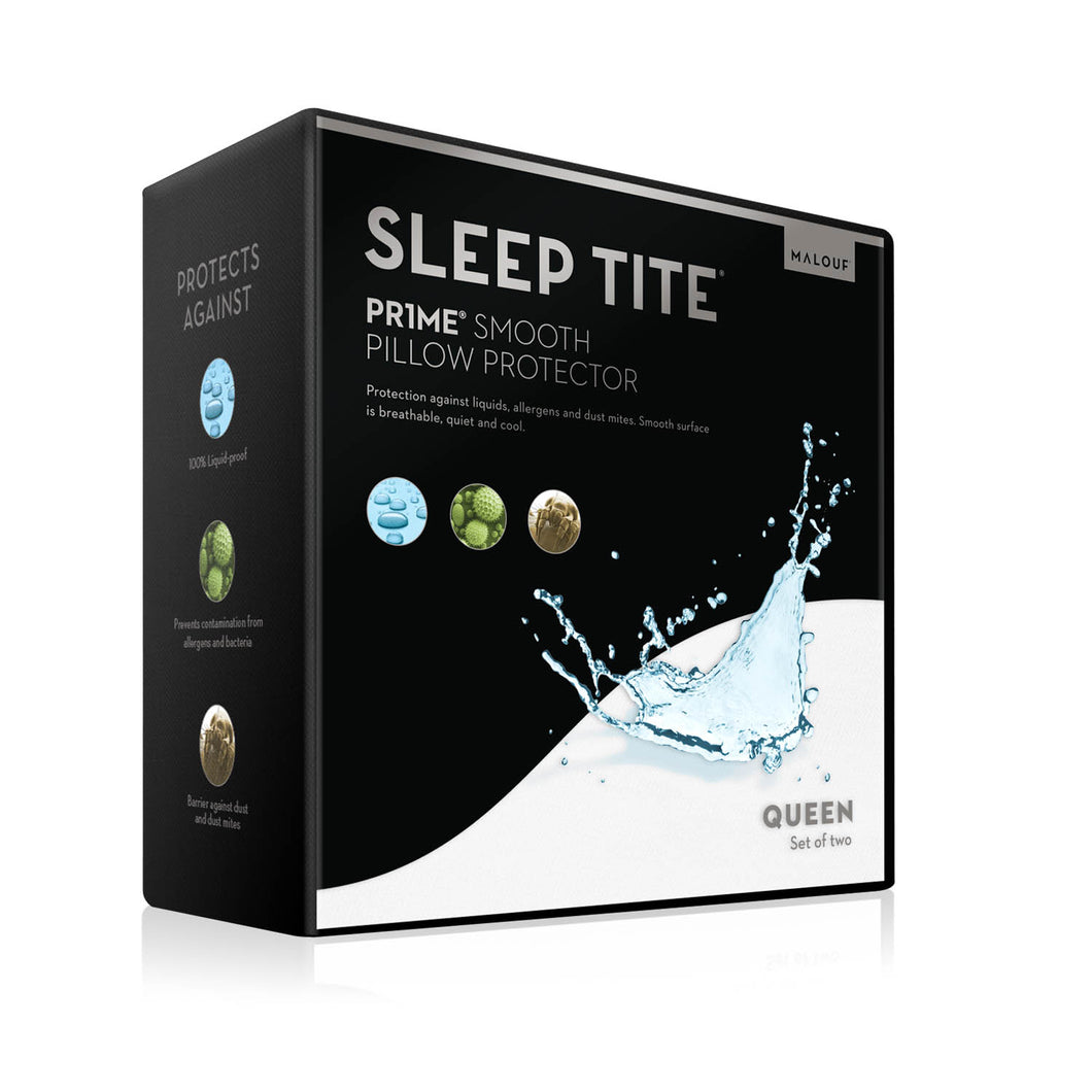 Malouf Prime® Smooth Pillow Protector