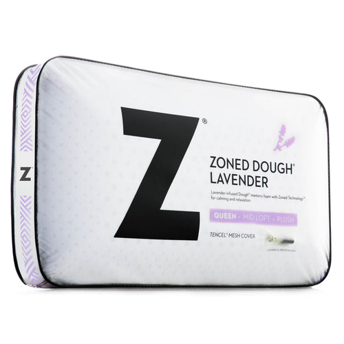 Malouf DOUGH® + Z™ Lavender Memory Foam Pillow