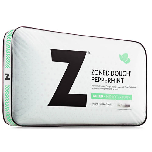 Malouf DOUGH® + Z™ Peppermint Memory Foam Pillow