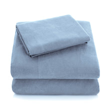 Load image into Gallery viewer, Malouf Portugese Flannel Premium Sheet Set