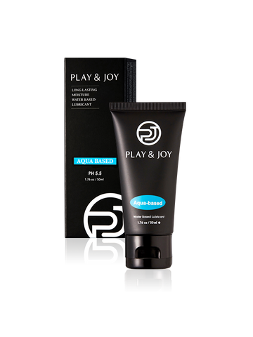 Play & Joy - Aqua Water-Based Personal Lubricant-50ml (1.76oz)-Juicy Missy-Personal Lubricant