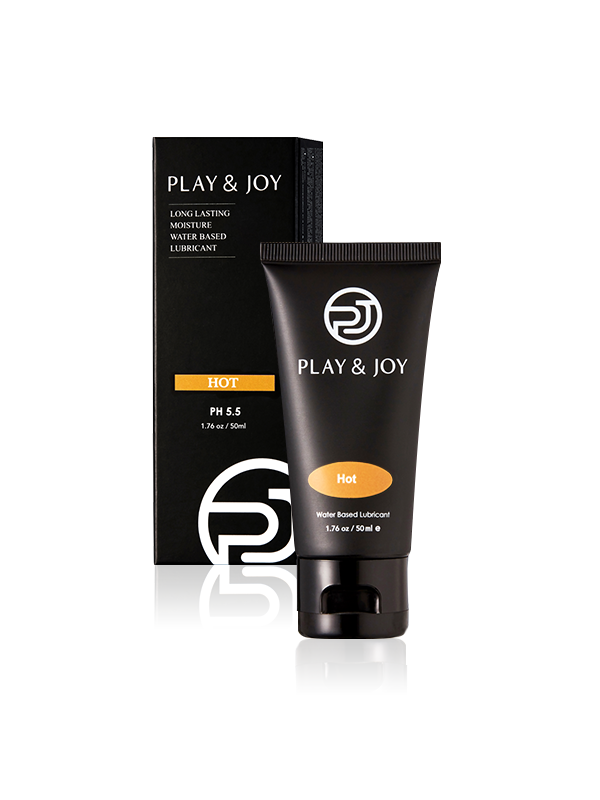 Play & Joy - Hot Water-Based Personal Lubricant-50ml (1.76oz)-Juicy Missy-Personal Lubricant