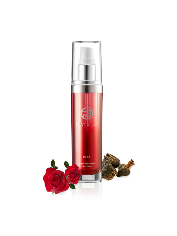 Play & Joy - Premium Rose Maca Water-Based Personal Lubricant-Juicy Missy-Personal Lubricant