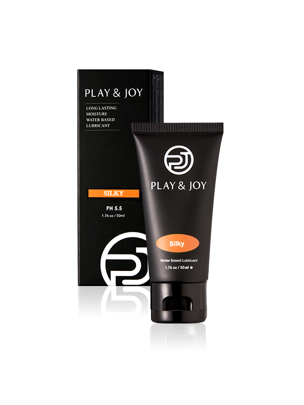 Play & Joy - Silky Water-Based Personal Lubricant-50ml (1.76oz)-Juicy Missy-Personal Lubricant
