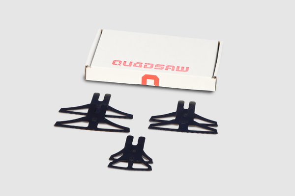 QUADSAW® Six Blade pack - Old Work Plastic Boxes