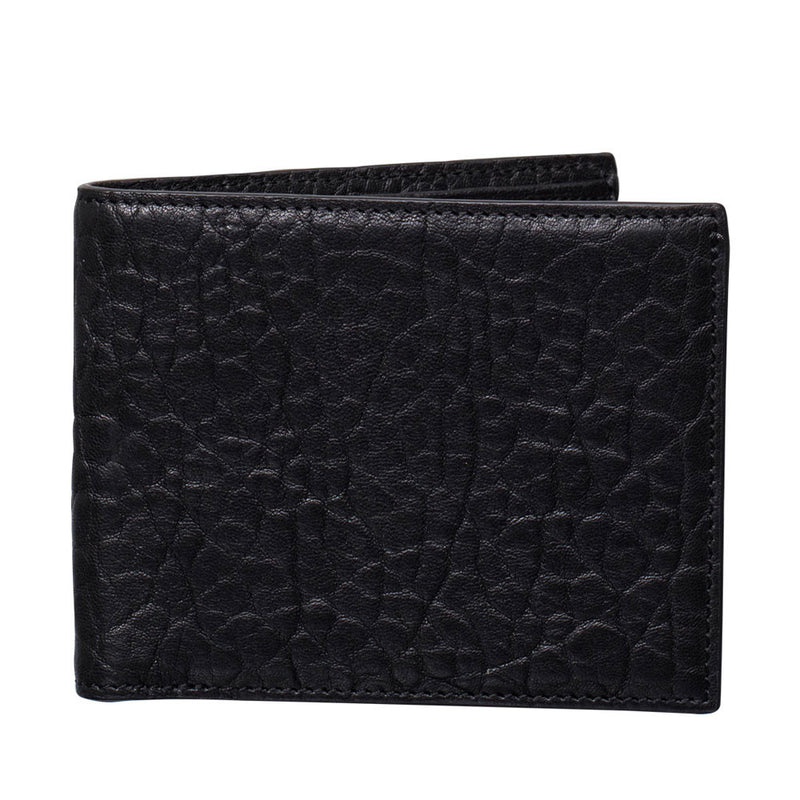 harry and co mens flip wallet black