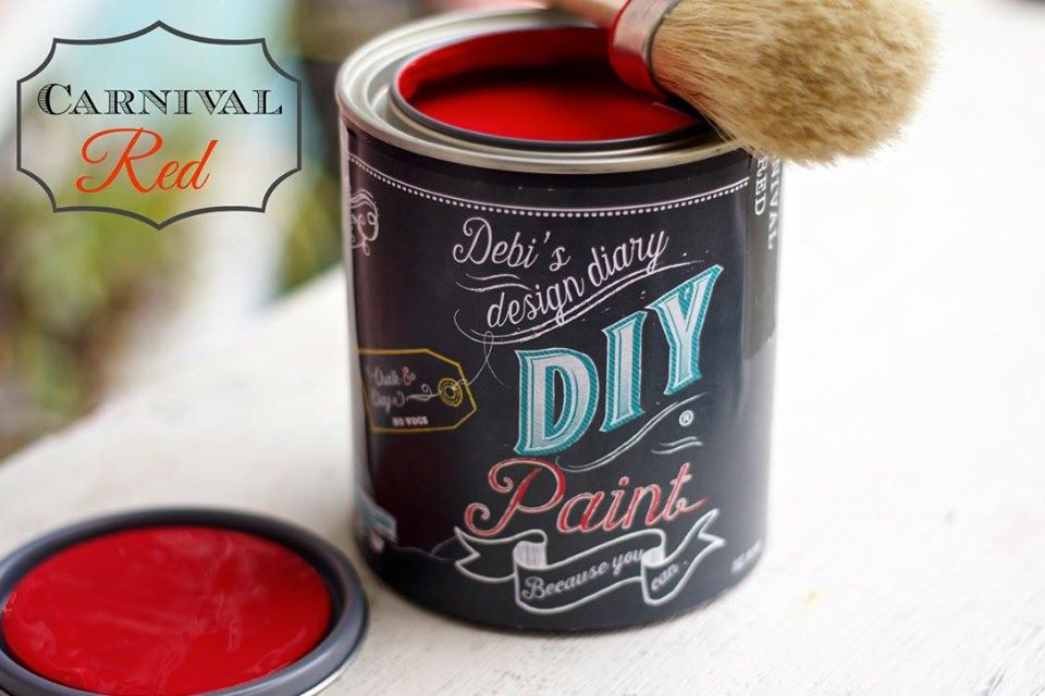 Carnival Red- DIY Paint Co.