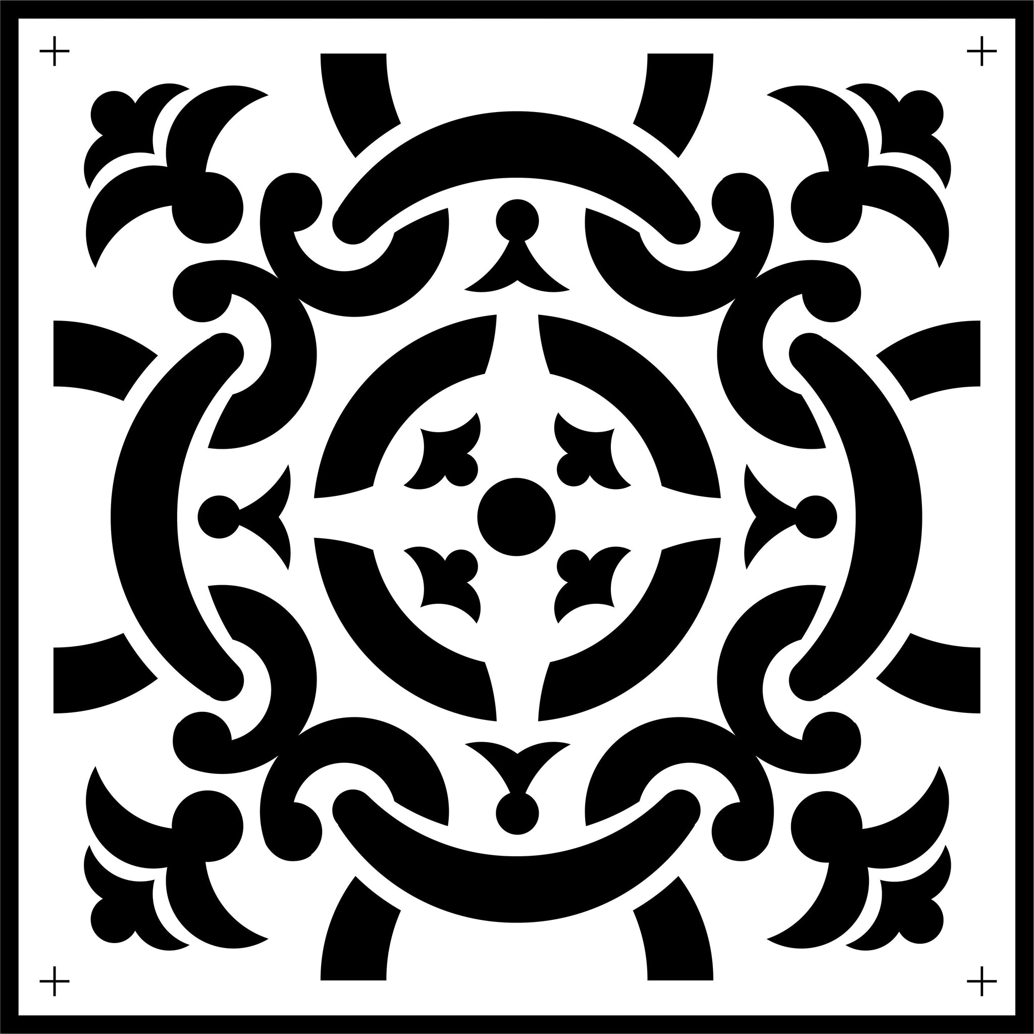 Celtic Tile | JRV Stencils