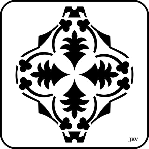 Arabesque Tiles | JRV Stencils