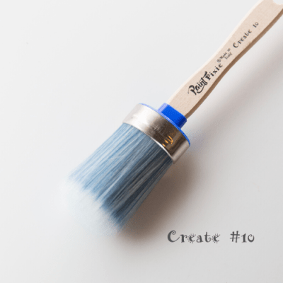 CREATE #10 OVAL SYNTHETIC BRUSH - Paint Pixie