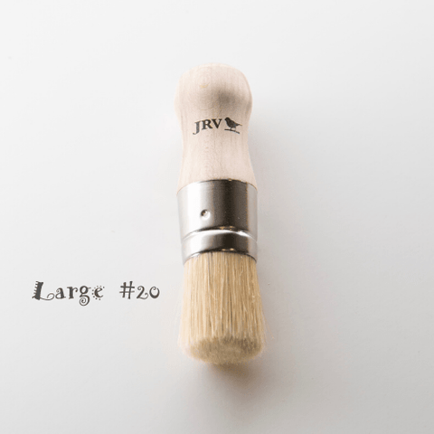 JRV LARGE #20 STENCIL/WAX BRUSH