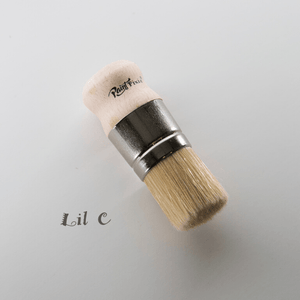 Lil' C Wax/Stecil brush- Paint Pixie