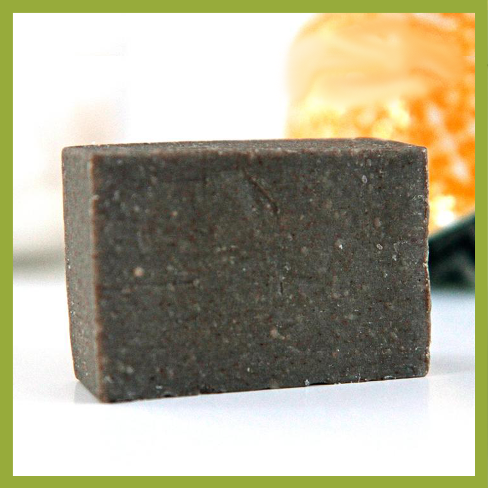 Activated Charcoal Scrub: The bar your face and body needs!