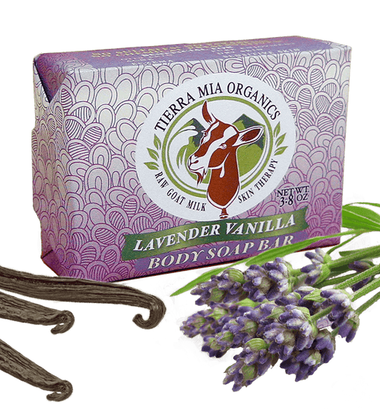 Tierra_Mia_Oraganics_Lavender_Vanilla_Goat_Milk_body_soap_in_packaging