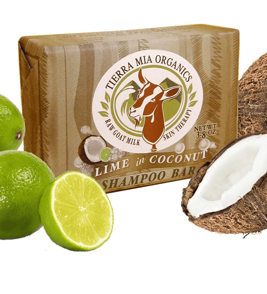 Tierra Mia Organics Lime in Coconut Shampoo Bar