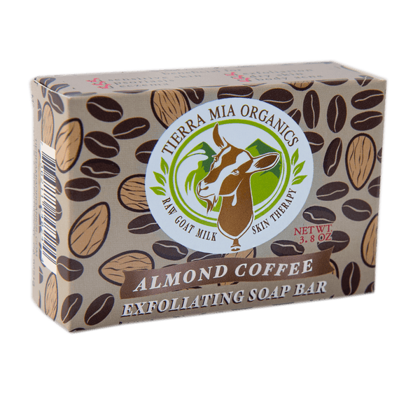Almond Coffee - Exfoliating Soap Bar
