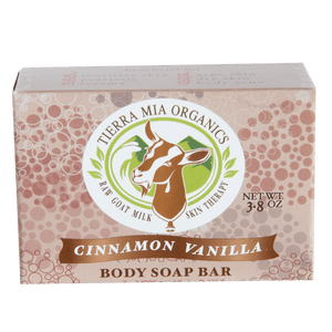 Cinnamon Vanilla — Body Soap Bar