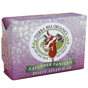 Front_Side_label_of_Tierra_Mia_Organics_Lavender_Vanilla_goat_milk_body_soap