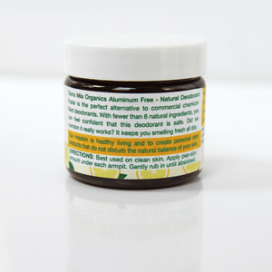 Deodorant Paste — All Natural and Aluminum Free