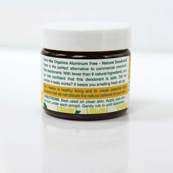 Deodorant Paste — All Natural and Aluminum Free  -On Sale!
