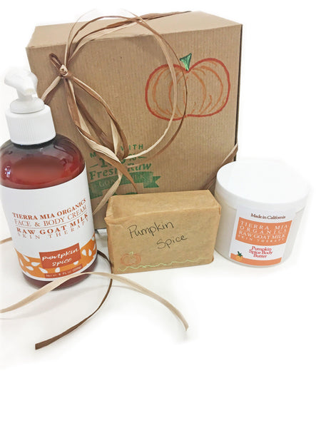 Pumpkin Spice Gift Box Set