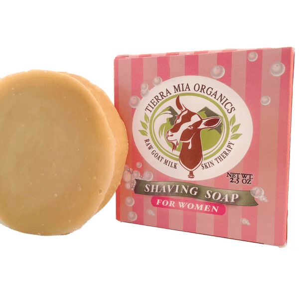 Goat_Milk_Shaving_Soap_For_Women_along_side_packaging