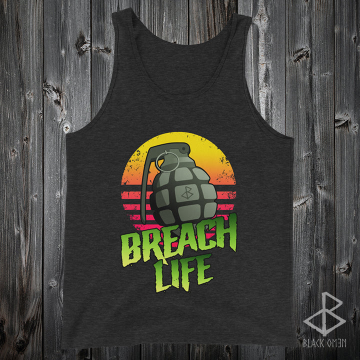 BREACH LIFE / Tank Top ( 2 COLOUR OPTIONS )