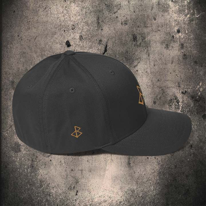 THE GOLD-OMƎN FLEXFIT VARIOUS COLOURS ( FRONT & SIDE EMBROIDERY)