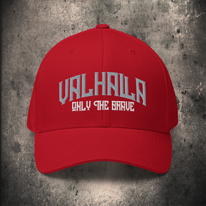 VALHALLA FLEXFIT CAP / 2 COLOUR OPTIONS - BLACK-OMƎN