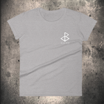 FREYA - HEATHER GREY Ladies T-shirt