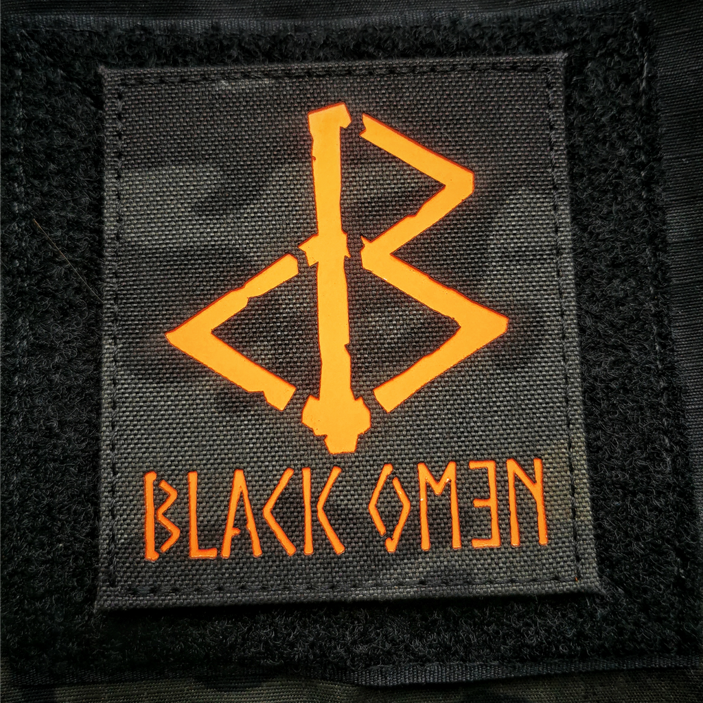 THE JACK O'LANTERN OMƎN PATCH
