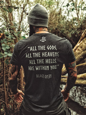 GODS SHIRT - BLACK-OMƎN