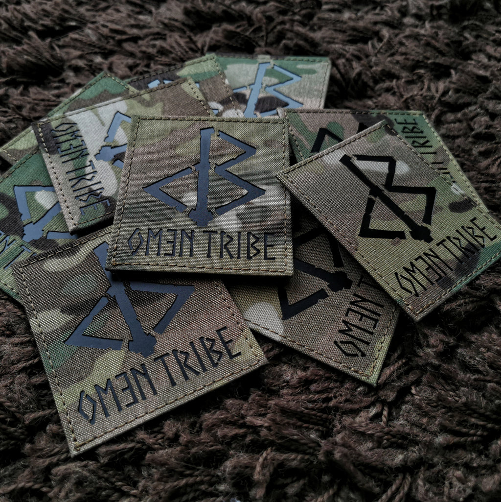 THE OMƎN TRIBE LIMITED EDITION PATCH - BLACK-OMƎN