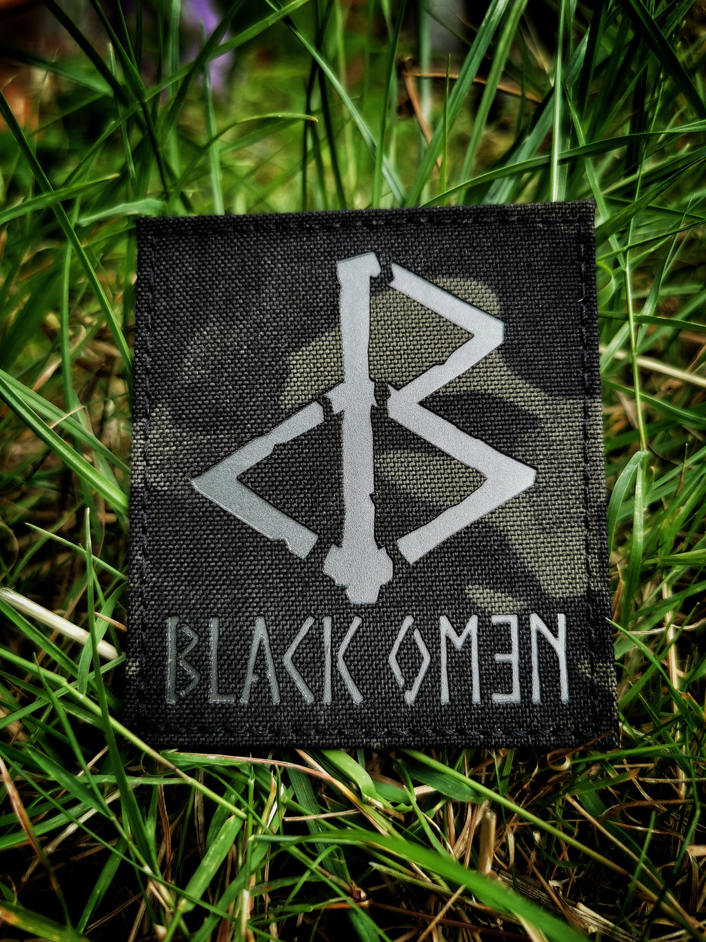 BLACK OMƎN PATCH / MULTICAM BLACK / GREY - BLACK-OMƎN