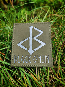 BLACK OMƎN PATCH / RANGER GREEN / GREY