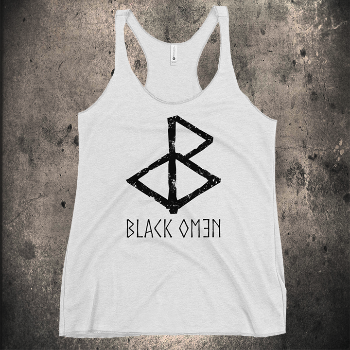 THE LOGO WOMENS RACERBACK TANK