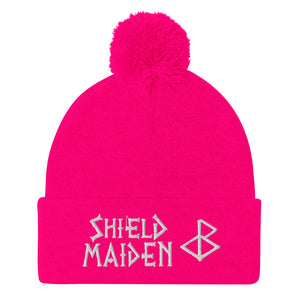 SUNNIES UNICORN SHIELD MAIDEN Pom-Pom Beanie