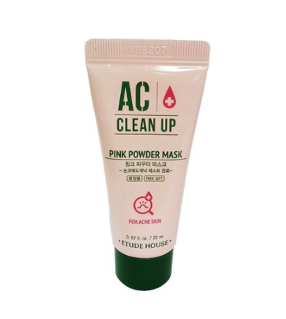 Etude House AC Clean Up Pink Powder Mask 30ml