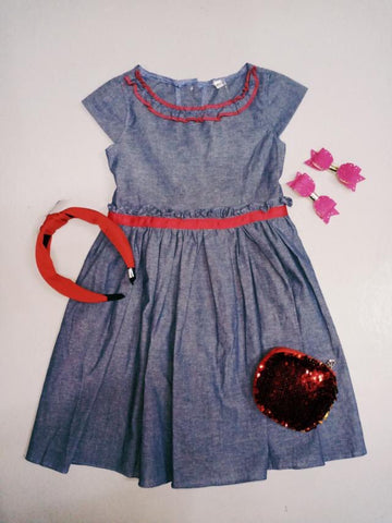 Charlize by Simply Jo Soft Denim dress