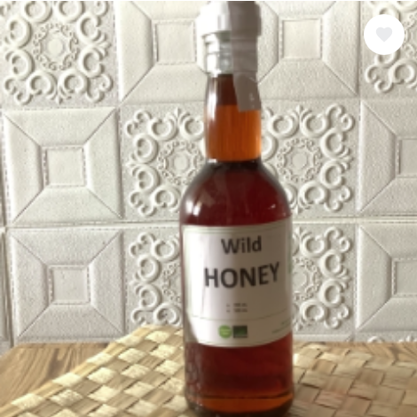 Spoon-Eat-Right WILD HONEY in 350ML bottle