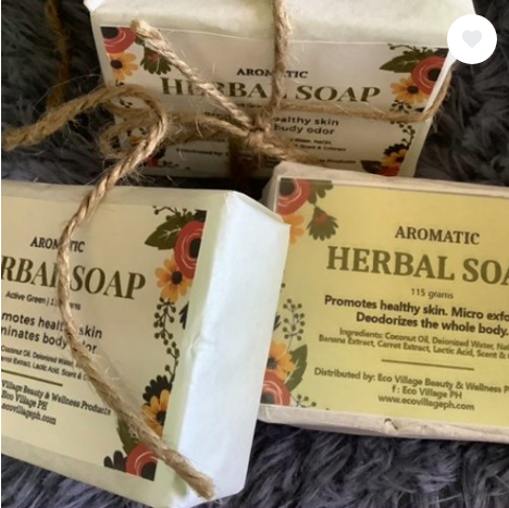 Eco Village PH Aromatic Herbal Soap Duo (2 soaps in 1 pack)
